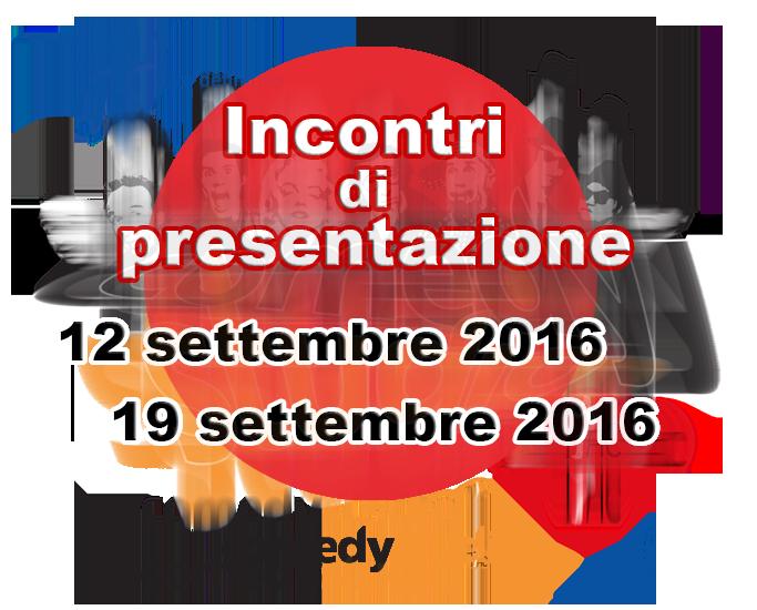 Incontri gratuiti di presentazione 2016