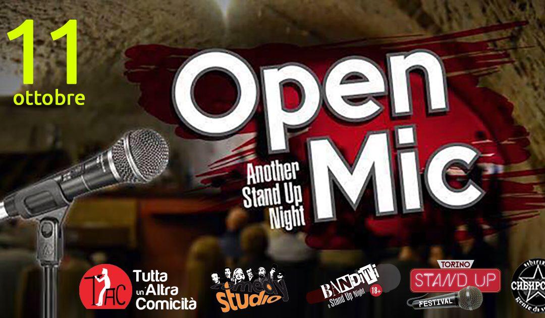 Ripartono gli open mic targati TAC – Tutta un'Altra Comicità
