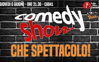 Lo spettacolo di fine anno di Comedy Sudio: il 6 giugno 2019!